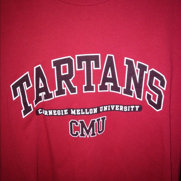 sports shoes dc71a 4ec98 Carnegie Mellon University, Tartans shirt.